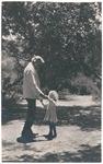 John Muir and grandson Richard Hanna, probably Martinez, California