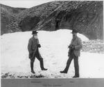 John Burroughs and John Muir probably in Alaska