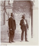 John Muir and Charles F. Lummis at Mission San Luis Rey, California