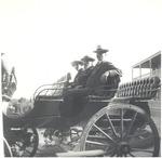 John Muir and unidentified men in Melbourne, Australia