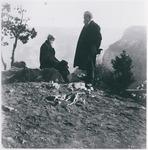John Muir and John Burroughs at Grand Canyon, Arizona