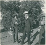 Charles Keeler, John Muir, and unidentified woman