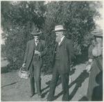 Charles Keeler, John Muir, and unidentified woman