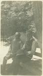 John Muir and unidentified man