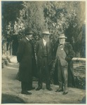 Anstruther Davidson, John Muir, and Andrew Carnegie in Los Angeles, California
