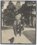 John Muir and Henry F. Osborn at Castlerock, the Osborn home in Garrison, New York