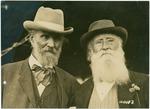 John Muir and John Burroughs in Pelham, New York