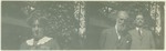 Mrs. Herrin, John Muir, William F. Herrin (two images on one print)