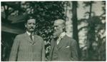 W. H. Herrin and John Muir at McCloud River, California