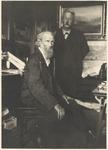 John Muir and C. Hart Merriam at Muir home in Martinez, California