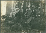 John Muir (middle) and unidentified men