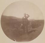 John Muir in Garden, probably Martinez, California
