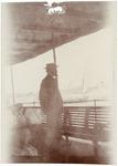 John Muir on Nile Steamer near Cairo, Egypt