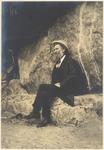 John Muir at Petrified Forest, Arizona