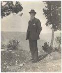 John Muir at South Rim of Grand Canyon, Arizona