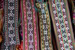 Woven flower belts by Marie Anna Lee