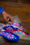 Wu Yingniang embroidery demonstration by Marie Anna Lee