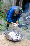 Cooking mulberry bark by Marie Anna Lee