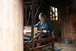 Wu Meitz weaving by Marie Anna Lee