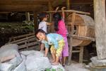 Children working by Marie Anna Lee
