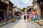 Qiao Street in Liping by Marie Anna Lee
