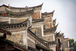 Roof style in Liping by Marie Anna Lee