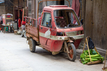 Three wheel car in Liping by Marie Anna Lee