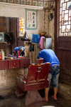 Barber shop in Liping by Marie Anna Lee