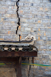 Motifs on porch roof Liping by Marie Anna Lee