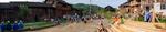 Village crowd by Anastasya Uskov