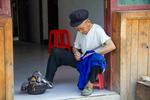 Wu Zhenguo sewing by Marie Anna Lee