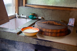 Wood stove and sink by Marie Anna Lee