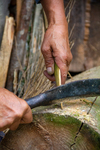 Tip of weaver's sword by Marie Anna Lee
