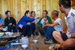 Feeding husband in jest by Marie Anna Lee
