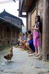 Gathering of villagers by Anastasya Uskov