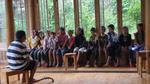 Wu Zhangshi leading children choir practice by Marie Anna Lee