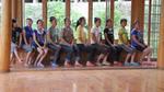 Young women choir practice