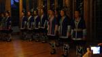 Young women's choir performance