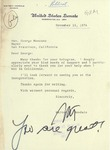 Walter Mondale to George Moscone, 15 November 1976