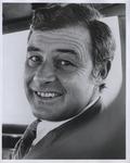 Moscone portrait in car, (circa 1977)