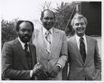 George Moscone, Willie Brown, and Tom Bradley, (circa 1977) by Unknown