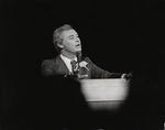 Moscone giving speech, (circa 1977) by Unknown