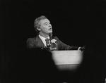 Moscone giving speech, (circa 1977)
