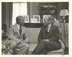 Moscone with President Ford by Unknown