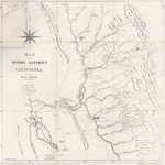 Map of the Mining District of California (facsimile)