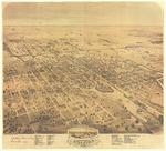 Birds Eye View of the city of Stockton, San Joaquin County, California