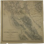 Topographical map of Central California…