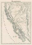 California map in Russian