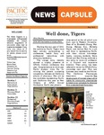 News Capsule by Academy of Student Pharmacists - University of the Pacific