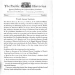 The Pacific Historian, Volume 01, Number 1 (1957)